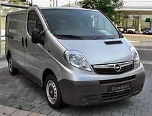 2009 Opel Vivaro Photos Informations Articles