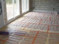 chauffage au sol electrique renovation chauffage 233 lectrique sol bac construction