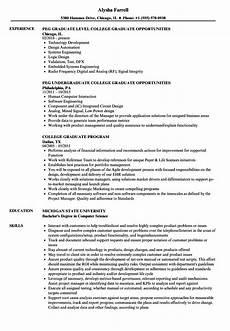 college graduate resume sles velvet