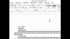 mise en page word mise en page d un document personalis 233 e et sommaire