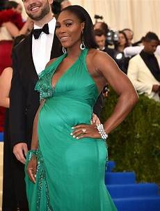 Serena Williams Just Debuted Baby Bump At The Met Gala