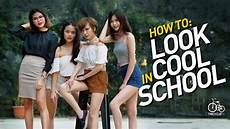 look school how to look cool in school tricycletv