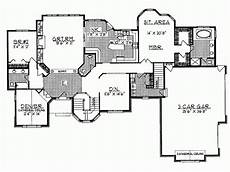 eplans house plans eplans european house plan neighborhood showpiece square