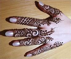 Paling Populer 11 Gambar Motif Henna Bunga Simple