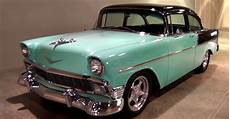 1956 chevrolet 2 dr post hot rod amercan muscle cars hot cars