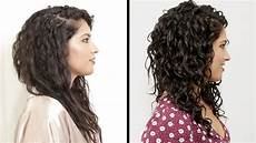 How To Style Curly Hair The Before