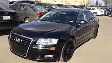 2008 audi a8 dash used black on black 2008 audi a8 quattro edmonton
