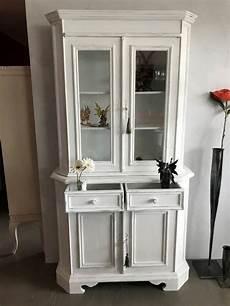 vitrine kommode antike kommode mit vitrine vintage weiss kaufen auf ricardo