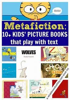 children s picture books for inferring metafiction in children s picture books