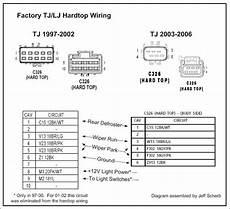 97 jeep tj wiring diagram 97 hardtop wiring diagram jeepforum