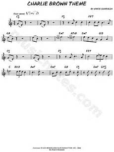 vince guaraldi quot charlie brown theme quot sheet music leadsheet flute violin oboe or recorder