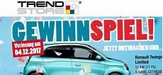 Auto Gewinnspiel Trendstore Verlost Renault Twingo