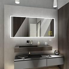 boston badspiegel mit led beleuchtung 100x80
