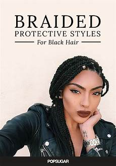 these protective hairstyles are for black