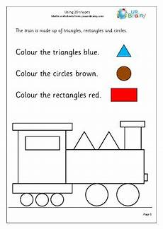 shapes worksheets eyfs 1093 using 2d shape 1