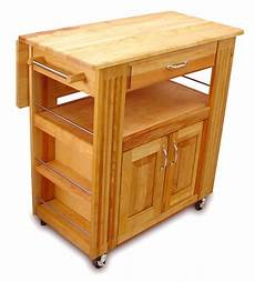 catskill craftsmen heart of the kitchen island trolley with drop leaf at barnitts online store