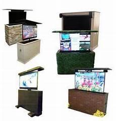 Fernseher Draußen Garten - die besten 25 outdoor tv schr 228 nke ideen auf
