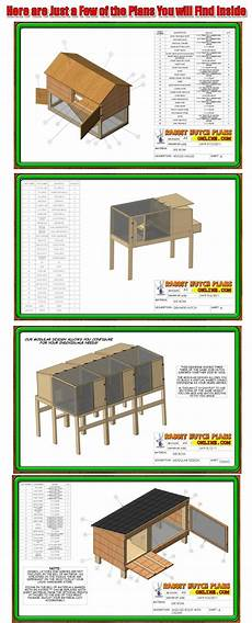 rabbit housing plans rabbit hutch plans