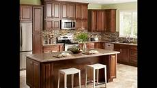 kitchen design tip using wall cabinets as base cabinets