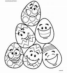 5 easy easter egg coloring pages easter egg coloring