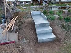 Kleine Treppe Bauen - gartentreppe selber bauen 40 beispiele