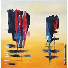 reproduction tableau contemporain riabstract008 tableau