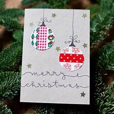 diy idee weihnachtskarten selbst gestalten muckout de