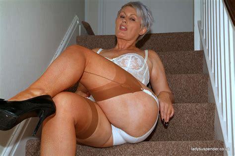 Lady Suspender Porn