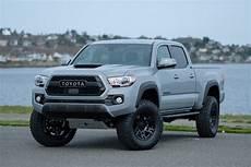 Silver Toyota Tacoma 2018 toyota tacoma trd custom silver arrow cars ltd