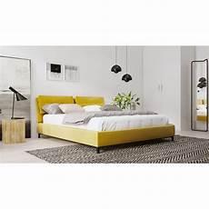 dubbel bed 160 cm volex stoffen bedframe