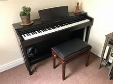 yamaha clp 625 digital piano stool headphones for sale in