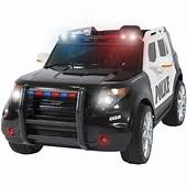 Best Choice Products 12V Kids Powered Ford Style Police RC