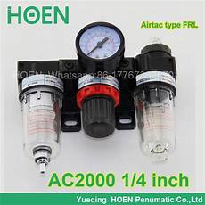 ac2000 1 4 quot port size airtac type frl air filter pressure