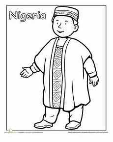 Malvorlagen Naija Traditional Clothing Coloring Page Malvorlagen