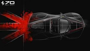 Ferrari To Mark 70th Anniversary With UK Dealer Tour  Car