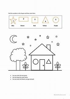 colors shapes worksheets 12808 colors shapes numbers esl worksheets for distance learning and physical classrooms