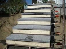 treppe selber bauen stein natursteintreppe
