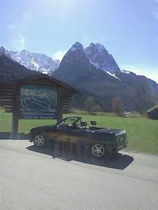 cabrio touren deutschland saisonbeginn april 2012 kreuzeckbahnhof garmisch