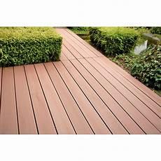 planche composite brun par lot de 3 lame de terrasse