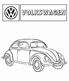 Malvorlagen Autos Vw Volkswagen Beetle Car Coloring Pages Best Place To Color