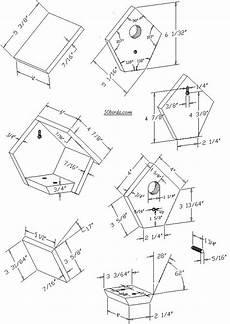 house wren birdhouse plans birdhouse plans wren nichoirs mangeoires pinterest