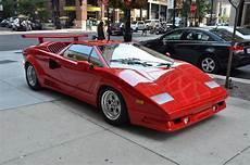 1989 Lamborghini Countach 25th Anniversary Edition Stock