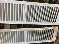 renovation volet bois volet bois