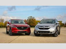 Honda CR V vs. Mazda CX 5: The Head And The Heart Of SUVs