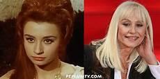 carré blond peplum tv then now raffaella carr 224