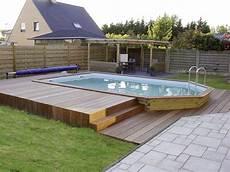 piscine hors semi enterree piscine hors sol semi enterr 233 e acier
