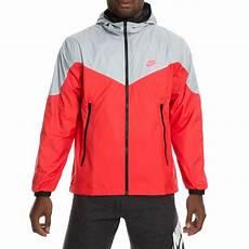 nike sportswear windrunner jacket wolf grey track