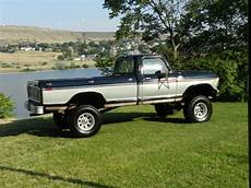 1979 ford f250 4x4 ranger xlt lifted black and silver best ebay for the money for sale