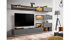 meuble bois gris meuble tv design led gris bois pour salon