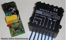 master schaltung selber bauen mit schaltplan oder